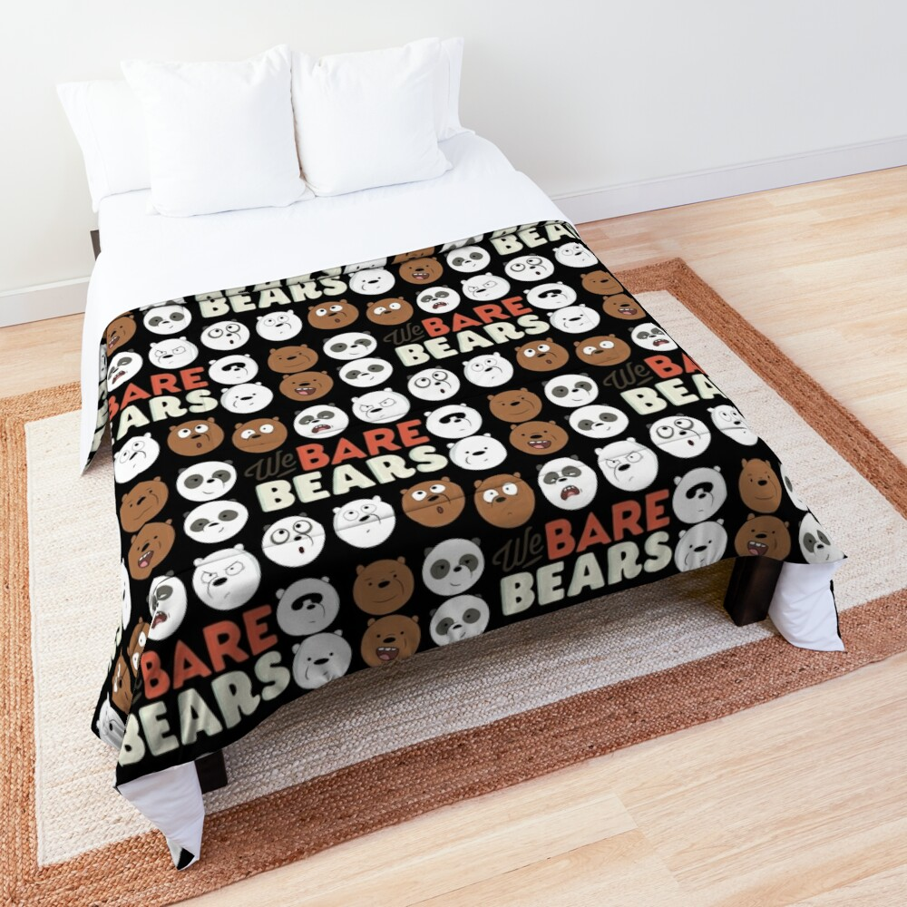 We Bare Bears Comforter