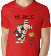 calvin and hobbes trigun Mens V-Neck T-Shirt