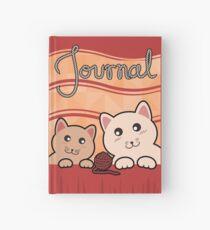 Cats versus wool Hardcover Journal