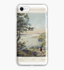 View of the Hudson River from Fort Lee by Karl Emil Döpler I iPhone Case/Skin