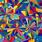 Shards #1 multi dimensional by Lynne Kells (earthangel)