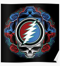 Steal Your Face Ilustration Poster