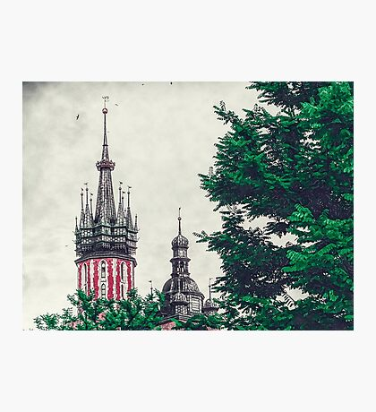 Cracow church Photographic Print