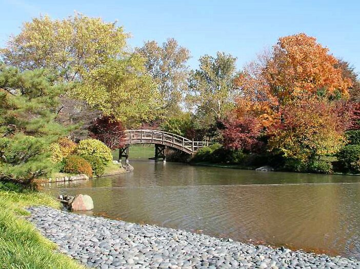 Bridge over Quiet Waters by Jim Caldwell