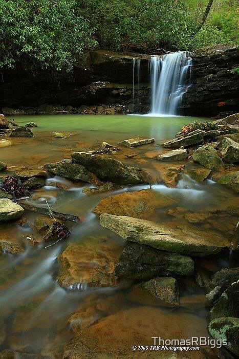 Marsh Fork Falls Feb 08 by ThomasRBiggs