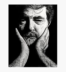george lucas charcoal Photographic Print