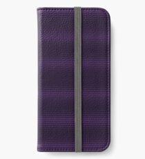Dioxazine Purple Retro Half Tone Print iPhone Wallet/Case/Skin