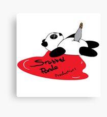 Stabbed Panda Logo Canvas Print