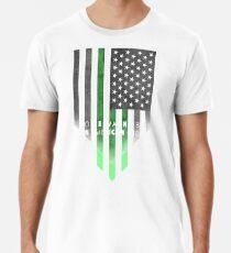 Will nicht ein amerikanischer Idiot sein Männer Premium T-Shirts