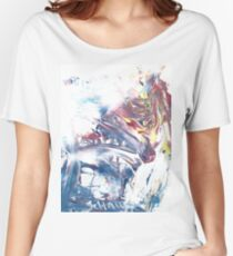 Wolf At The Window Women's Relaxed Fit T-Shirt