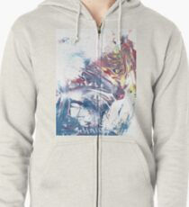 Wolf At The Window Zipped Hoodie
