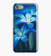 Small Blue Flowers iPhone Case/Skin