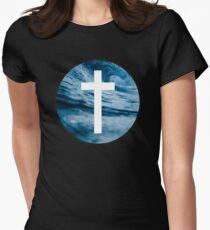 Christian Cross Womens Fitted T-Shirt