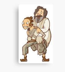 Revenge of the Last Jedi Canvas Print