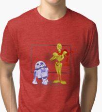 Star Wars X Undertale - Skeleton Driods Tri-blend T-Shirt