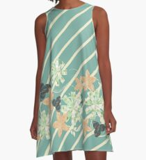 May Flowers A-Line Dress