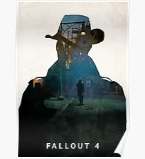 Póster Fallout 4 - Nick en Goodneighbor