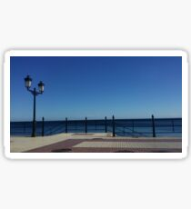 The Empty Beachfront Sticker
