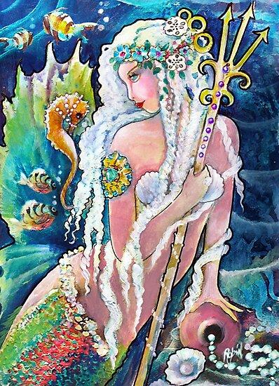 Princess Neptune by Robin Pushe'e