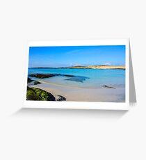 Sanna Bay 3 Ardnamurchan Greeting Card