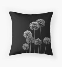 Allium Array Throw Pillow