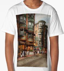 City - Boston MA - The North Square Long T-Shirt
