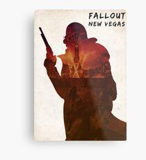 Fallout - Ranger on the Strip Metal Print