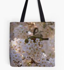 AhahahCHOO!! Blimey I'm Lucky I Don't Have Hay-Fever!! - Silvereye - NZ Tote Bag