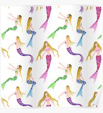 Mermaid princesses  Poster