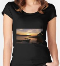 Piercing Sunset Women's Fitted Scoop T-Shirt