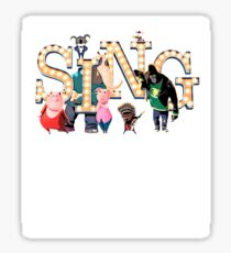 Sing Movie picture style  Sticker