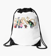 Sing Movie picture style  Drawstring Bag