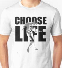 Wham! Wham t shirt Choose life George Michael Wake Me Up Choose Life Silhouette  T-Shirt