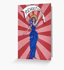 Revolt! Greeting Card