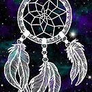 Galaxy Dreamcatcher by julieerindesign