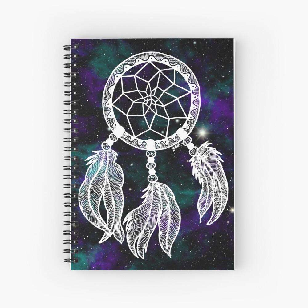 Galaxy Dreamcatcher Spiral Notebook