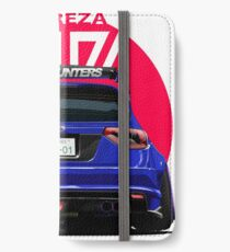 Speedhunters - BLUE Subaru Impreza WRX STI iPhone Wallet/Case/Skin