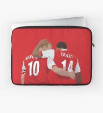 Thierry Henry und Dennis Bergkamp Laptoptasche