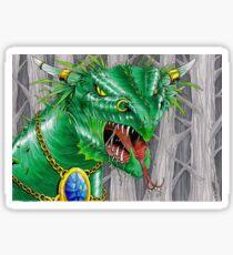 bull dragon Sticker