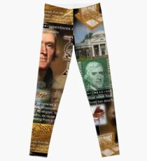 thomas jefferson Leggings