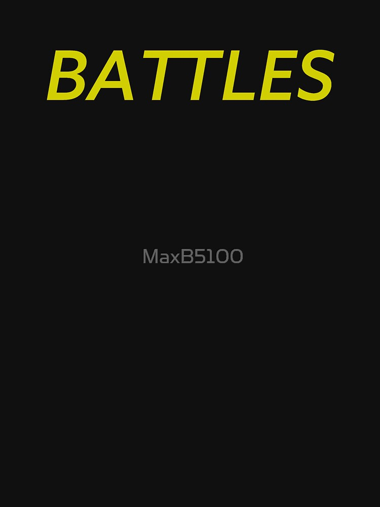 Battles Mirrored Logo by MaxB5100
