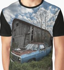 Abandoned Truck Graphic T-Shirt