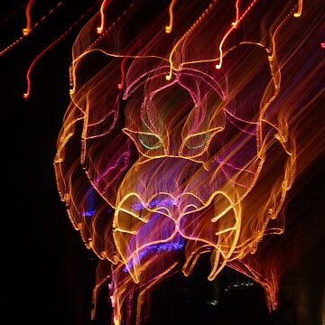 electric tiger by saprillika