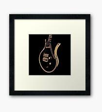 Prince Last Guitar Framed Print