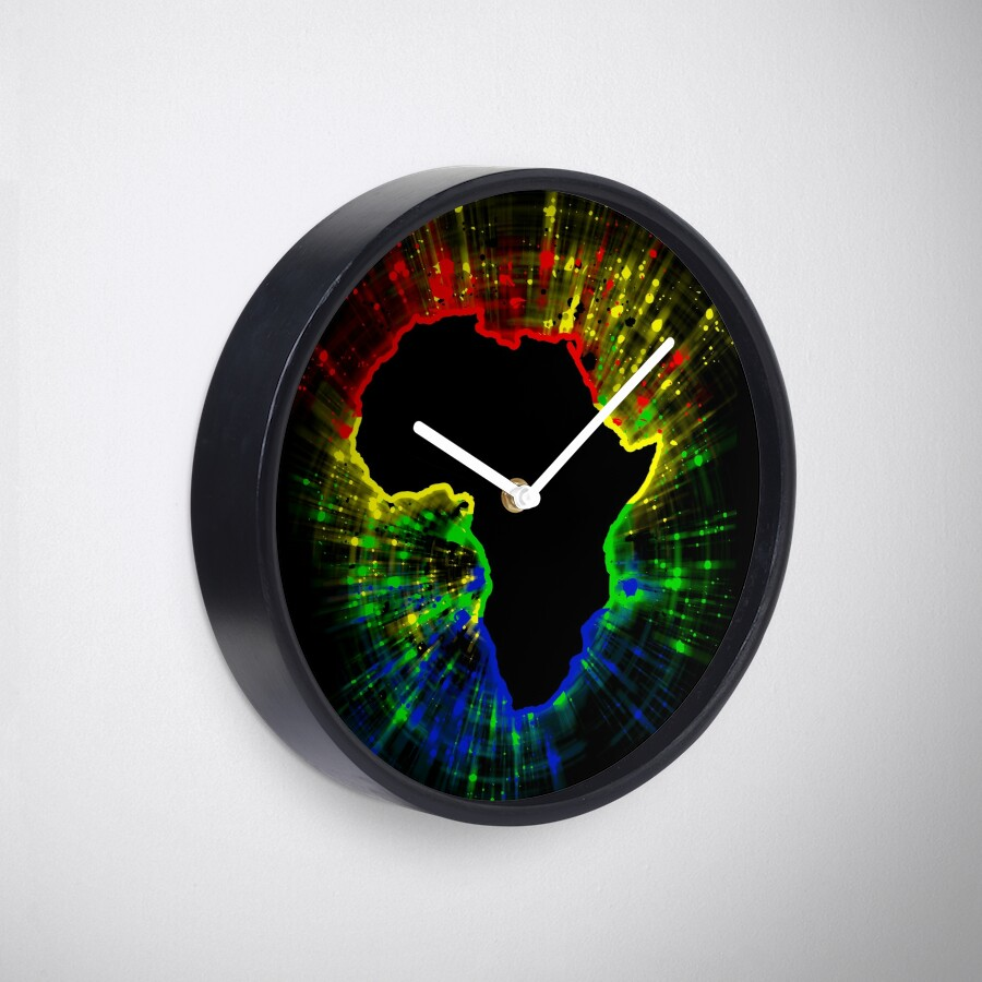 African continentsouth african flag colours clocks by african continentsouth african flag colours clocks amipublicfo Images