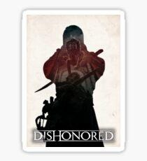 Dishonored - Drop Assassination Sticker