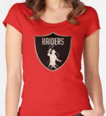 Raiders Women's Fitted Scoop T-Shirt