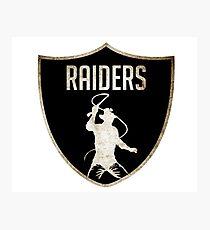 Raiders Photographic Print