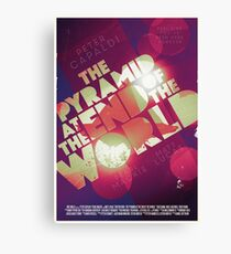 Doctor Who: The Pyramid at the End of the World Canvas Print