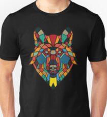 Wolf Abstract art T-Shirt